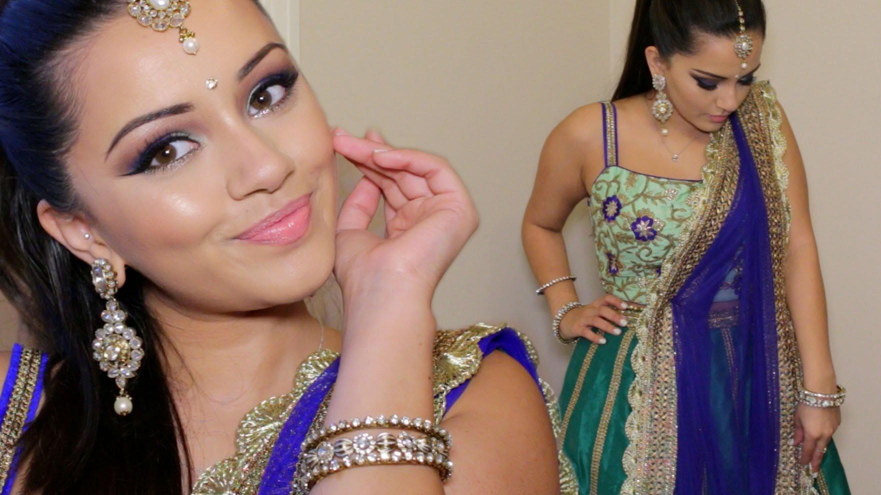 Фото макияжа индийских девушек