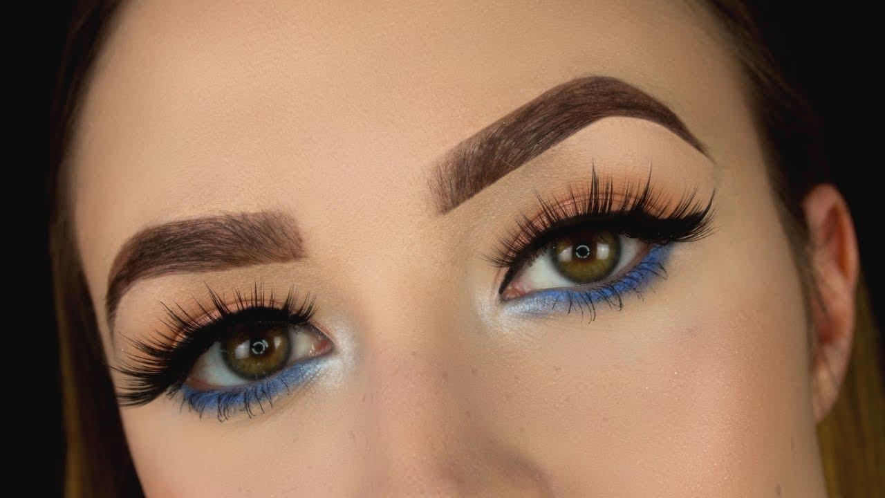 Как делать макияж глаз пошагово фото