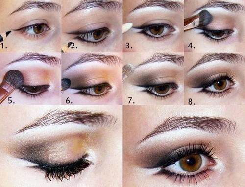Как делать макияж в домашних условиях с фото