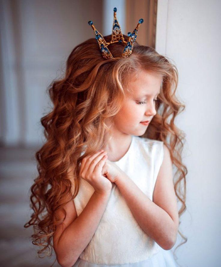 Причёски праздничные на длинные волосы девочке