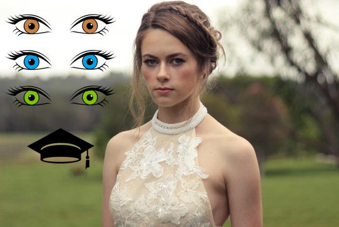 Макияж на выпускной 2017 под цвет глаз