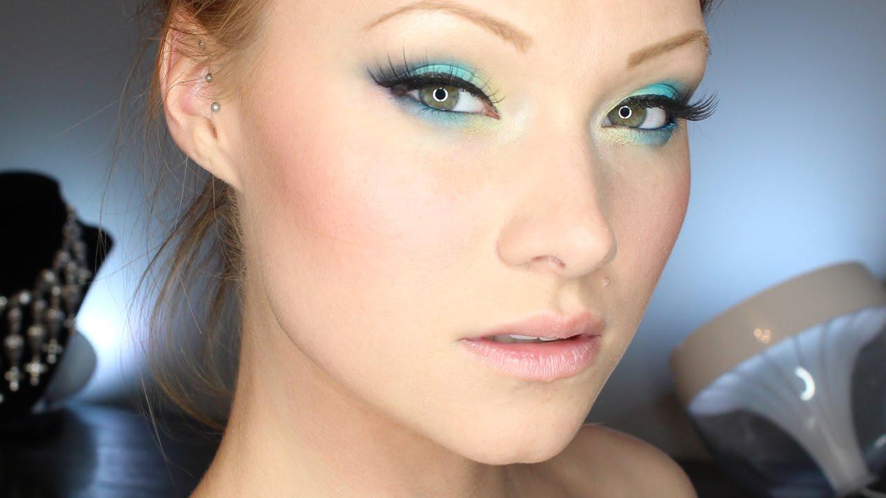 Фото летний макияж для зеленых глаз