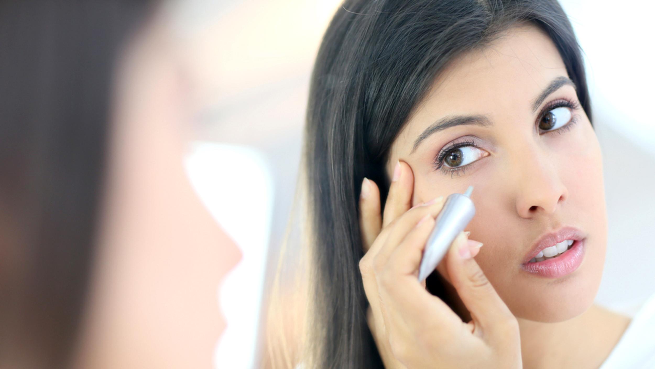 нанесение офисного макияжа