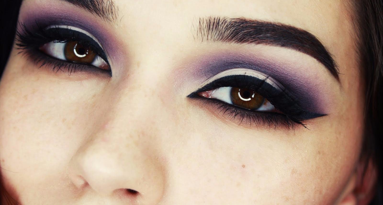 Восточный макияж глаз фото