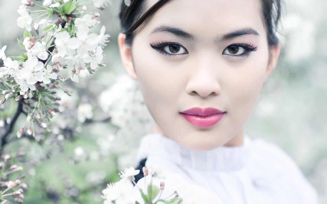 Японский повседневный макияж