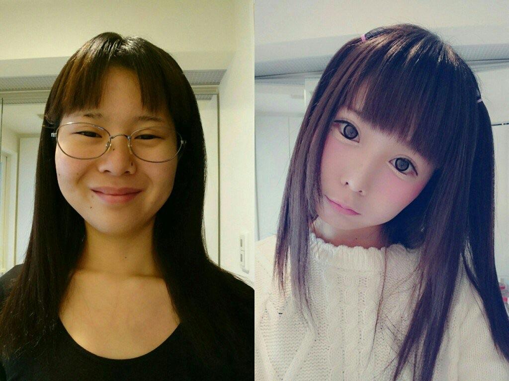 чудеса японского макияжа
