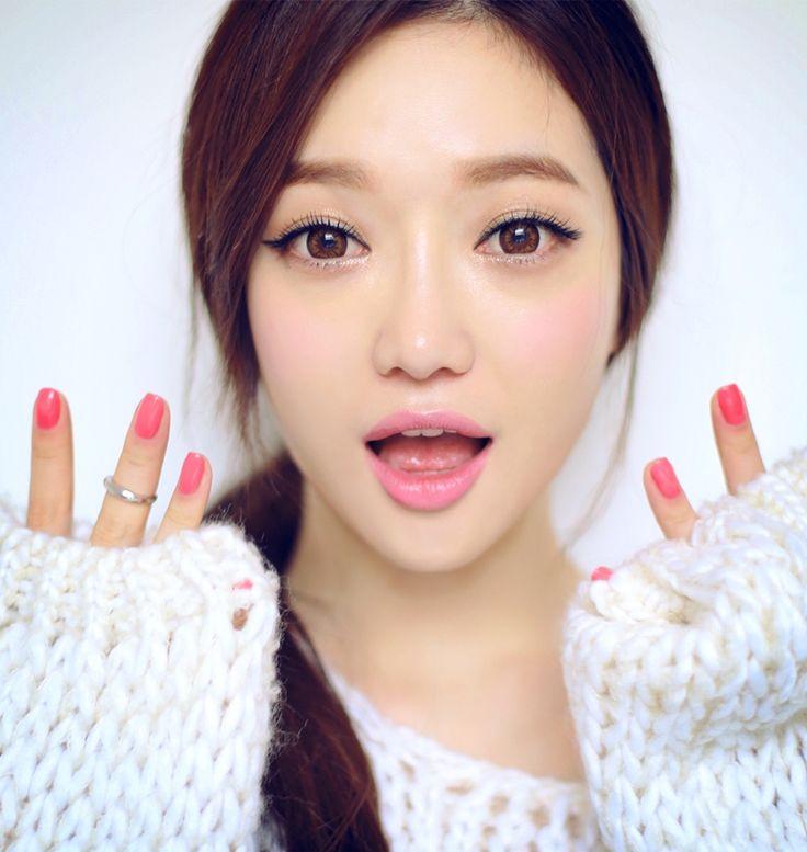 корейский макияж глаз фото