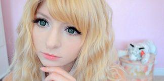 макияж в стиле аниме