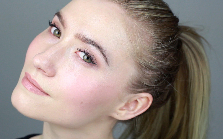 офисный макияж для зеленых глаз