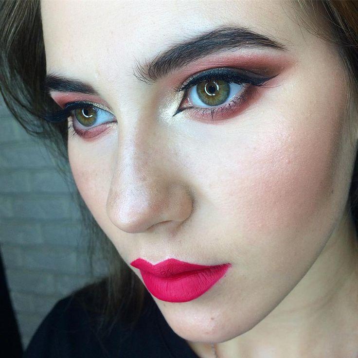 Восточный макияж для зеленых глаз фото