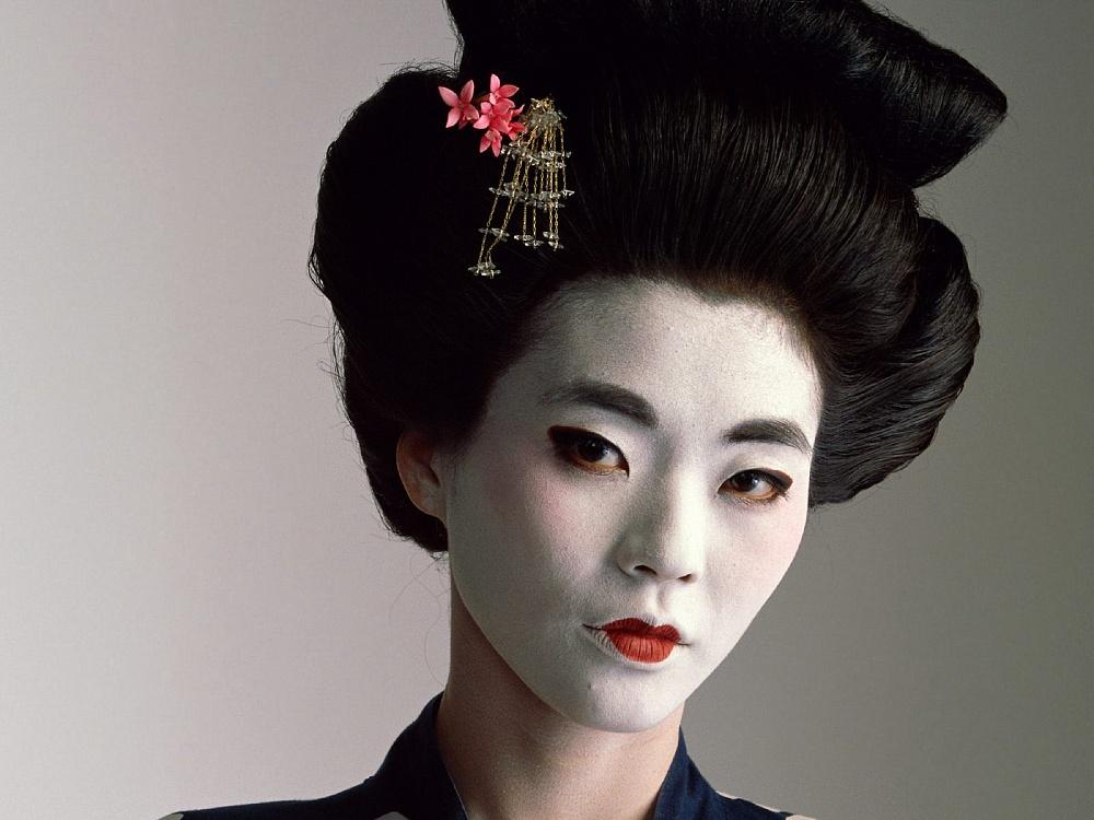японский стиль макияж