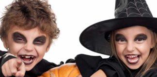 Макияж для детей на Хэллоуин