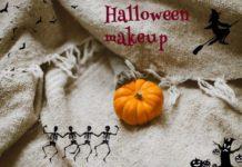 Макияж на Хэллоуин для девушки в домашних условиях