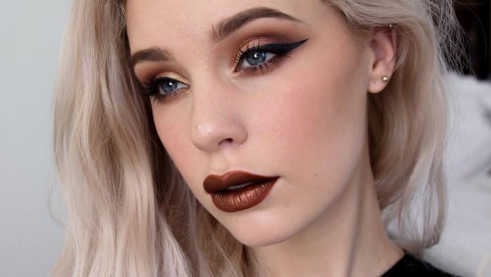 Какой макияж в моде осенью 2017