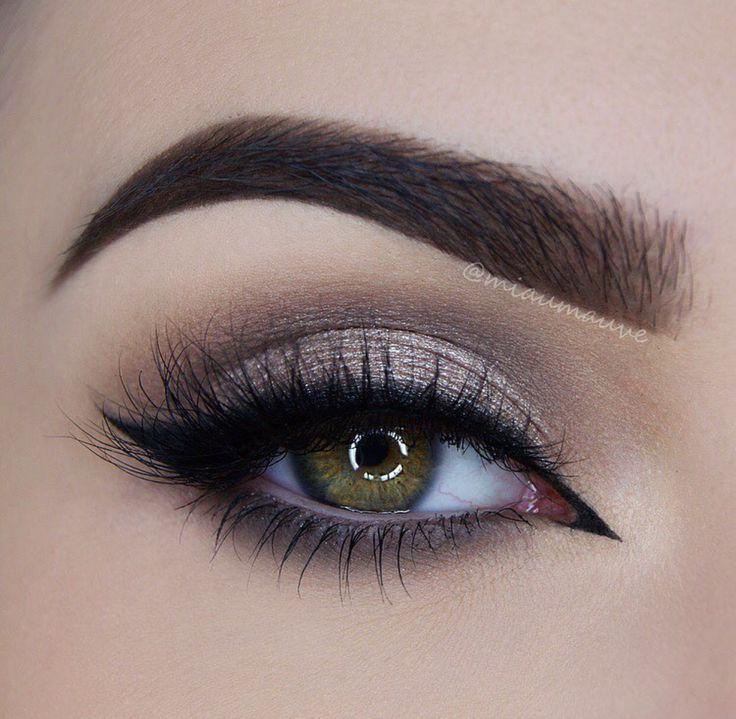 Модный макияж глаз осенью 2017