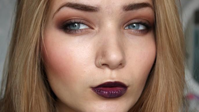 Модный макияж осенью 2017 фотографии