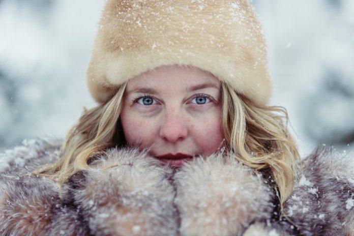 Модный зимний макияж 2017-2018