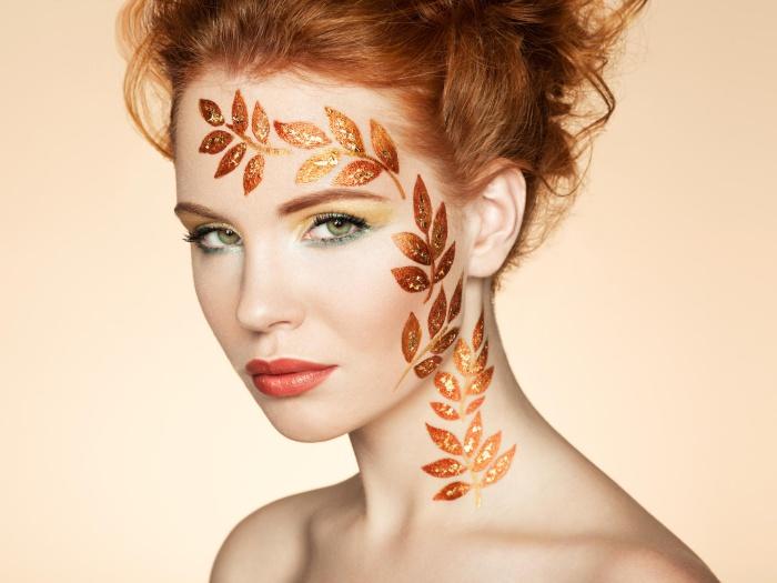 Осенний макияж пошаговая инструкция