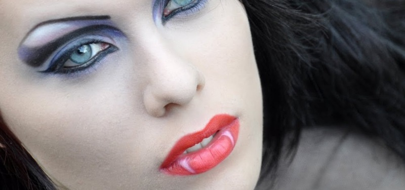Вампирши макияж на хэллоуин