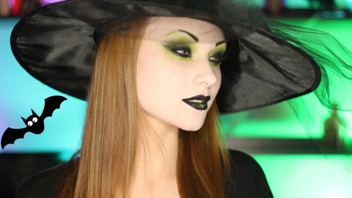 интересный макияж ведьмы на хэллоуин