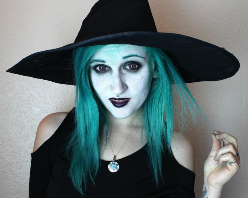 Макияж страшной ведьмы на хэллоуин