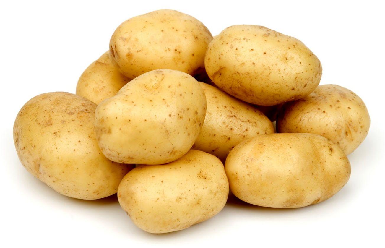 Зимняя картофельно-сметанная маска