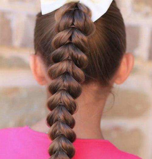 Косы для девочек на длинные волосы в школу
