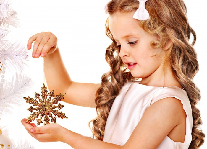 Красивые прически на Новый год для девочек