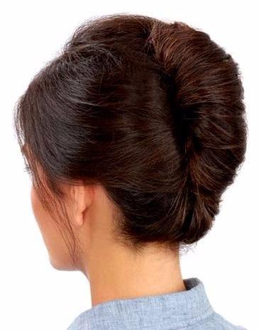 Прическа ракушка на длинные волосы в школу